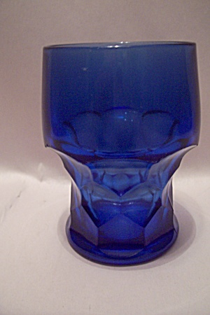 Anchor Hocking/fire King Cobalt Blue Glass Tumbler