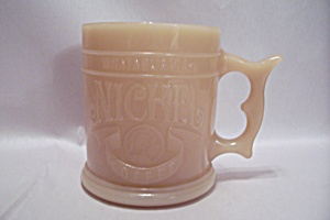 Whataburger Nickel Carmel Colored Glass Mug