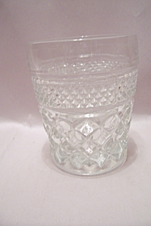 Fire King/Anchor Hocking  Wexford Crystal Glass Tumbler (Image1)