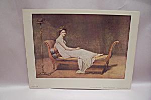 MADAME RECAMIER by Artist Jacques Louis David (Image1)