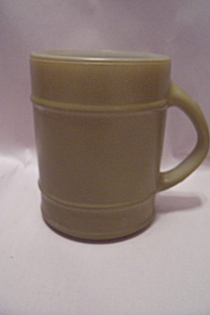 Fire King/Anchor Hocking Avocado Green Glass Ranger Mug (Image1)