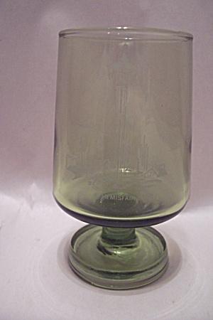 Hemisphere 1968 Green Glass Pedestal  Tumbler (Image1)