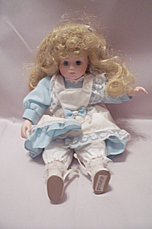 "House Of Lloyd Blonde 12"" Doll"