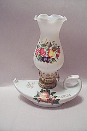 Florida Souvenir  Aladdin's Style Miniature Oil Lamp (Image1)