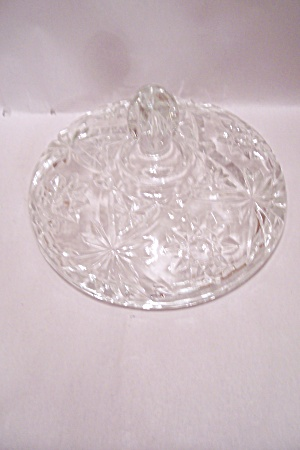 Fire King/anchor Hocking Eapc #792 Crystal Candy Lid