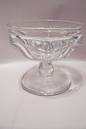 Crystal Glass Sherbet/ice Cream Dish