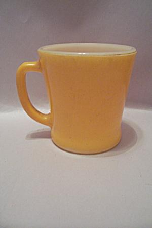 Fire King Yellow Glass Mug (Image1)