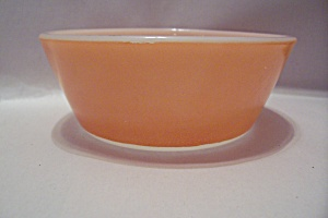Federal Orange Glass Heat Proof Dessert Bowl (Image1)