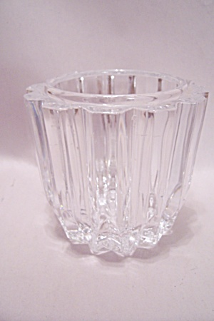 Waterford Brilliant Lead Crystal Glass Candle Holder