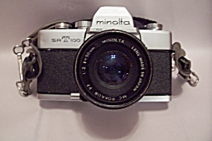 Minolta Srt100 35mm Slr Film Camera