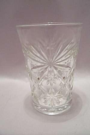 Fire King/anchor Hocking Eapc Crystal Glass Tumbler