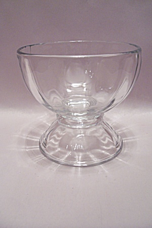 Libby Crystal Glass Compote