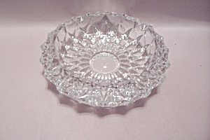 Crystal Cut Glass Ash Tray