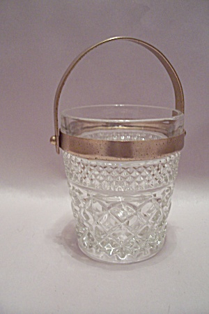 Fire King/Anchor Hocking Wexford Crystal Glass Bucket (Image1)