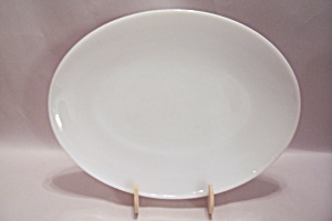 Fire King 1700 Line Milk White Glass Platter