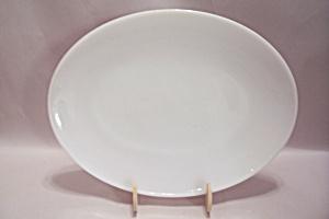 Fire King 1700 Line Milk White Glass Platter (Image1)