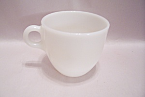 Fire King Milk White Glass Oven Proof Cup