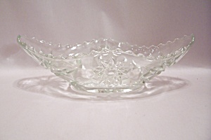 Fire King/anchor Hocking Eapc Glass Gondola Bowl