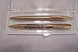 WINGS Mutual Of Omaha Advertising Pen & Pencil Set (Image1)
