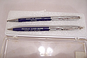 Amsterdam Federal Land Bank Pen & Pencil Set (Image1)