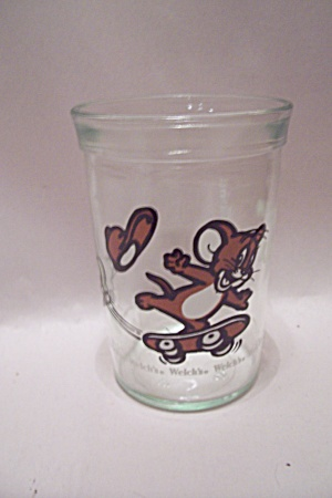 Welch's Jelly Advertising Tom & Jerry Glass
