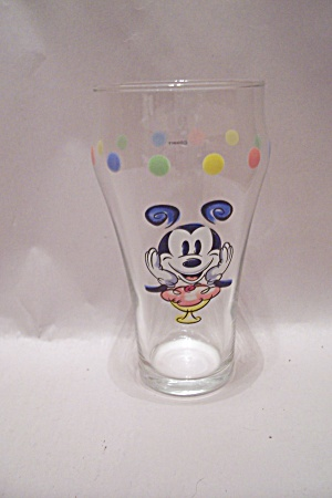 Mickey Mouse Crystal Tall Glass