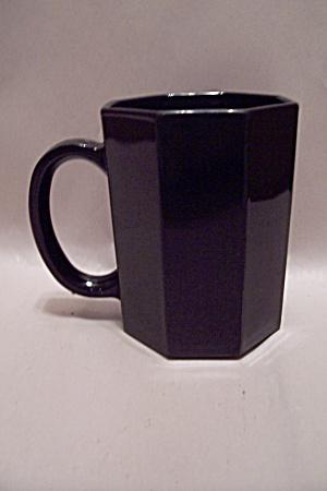 French Black Glass 8-Sided/Octagon Mug (Image1)