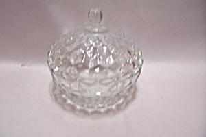 Crystal Diamond Pattern Lidded Candy Dish (Image1)