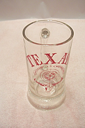 University Of Texas Crystal Glass Beer Mug (Image1)