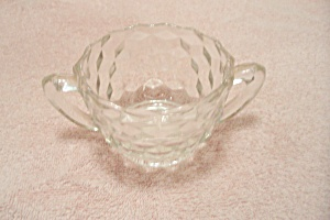 Crystal Southhall Pattern Glass Sugar Bowl