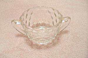 Crystal Southhall Pattern Glass Sugar Bowl (Image1)