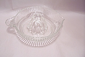 Crystal Pattern Glass Reamer