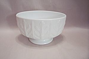 Milk Glass Oval Bowl/Planter (Image1)