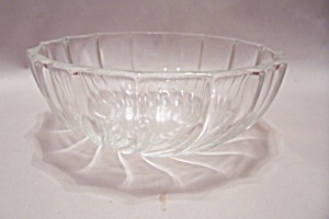 Crystal Swirl Pattern Dessert/berry Bowl