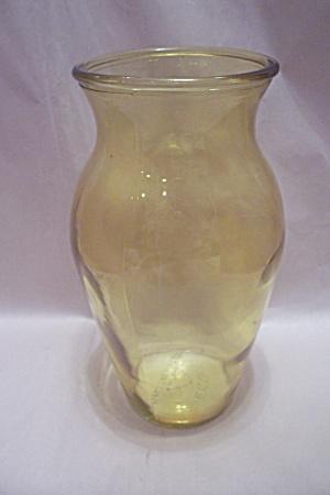 Light Amber Glass Vase (Image1)