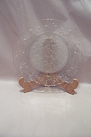 Crystal And Satin Glass Dinner Plate (Image1)