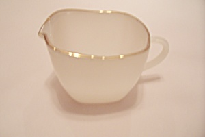 Fire King/anchor Hocking Golden Anniversary Creamer