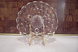 Fostoria American Pattern Glass 3-Toed Tidbit Dish (Image1)