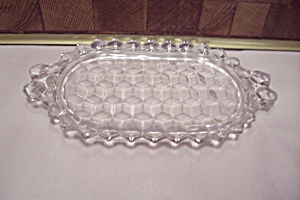 Fostoria American Pattern Glass Mini Sugar/creamer Tray