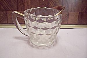 Fostoria American Pattern Anniversary Glass Creamer (Image1)
