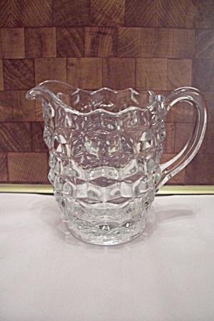 Fostoria American Pattern Crystal Glass Creamer (Image1)