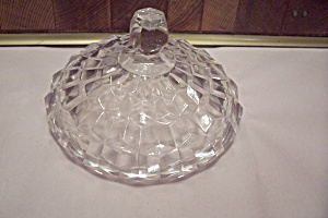 Fostoria American Pattern Crystal Glass Lid