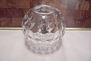 Fostoria American Pattern Crystal Glass Rose Bowl