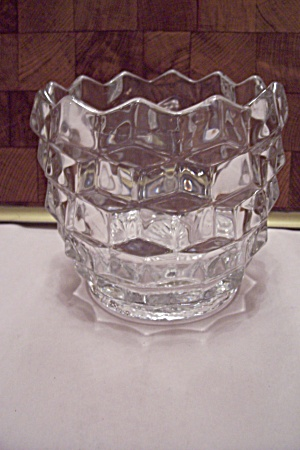 Fostoria American Pattern Glass Sugar/candy Barrel