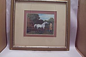 Framed Classic English Horse Print (Image1)