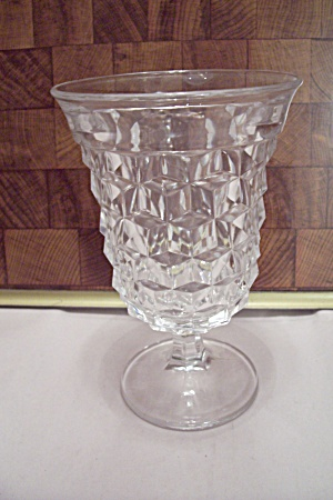 Fostoria American Pattern Crystal Water Glass Goblet