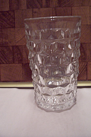 Fostoria American Pattern Crystal Glass Footed Tumbler