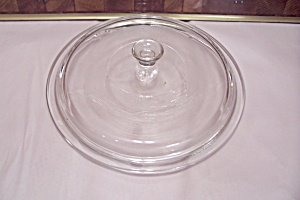 "Crystal Glass 9"" Casserole Lid"