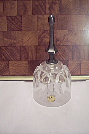 Royal Crystal Rock Lead Crystal Glass Dinner Bell