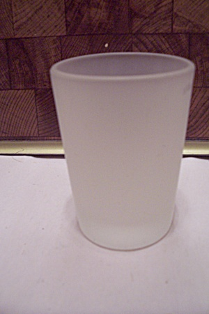 Satin Glass Juice Glass